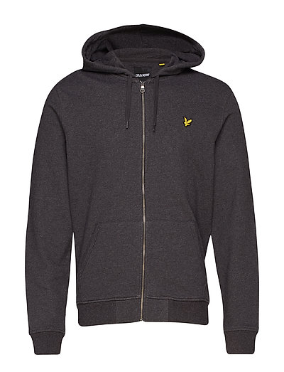 Zip Through Hoodie Hoodie Pullover Grau LYLE & SCOTT