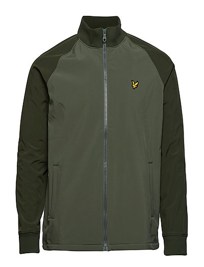 Funnel Neck Soft Shell Dünne Jacke Grün LYLE & SCOTT