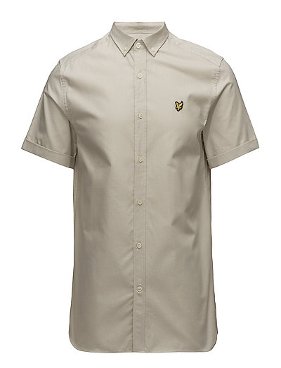 SS Oxford Shirt - LIGHT STONE