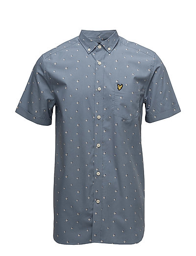 Beach Ball Print Shirt - MIST BLUE