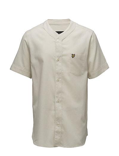 Cotton Linen Shirt - SEASHELL WHITE