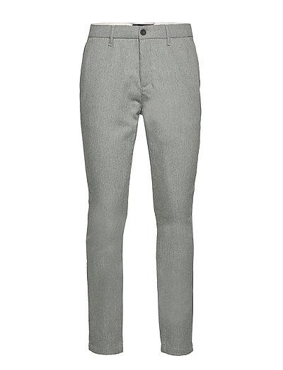 Wool Blend Trouser Chinos Hosen Grau LYLE & SCOTT