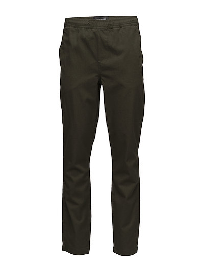 Relaxed Trouser - DARK SAGE