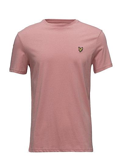 Crew Neck T-Shirt - PINK SHAKE
