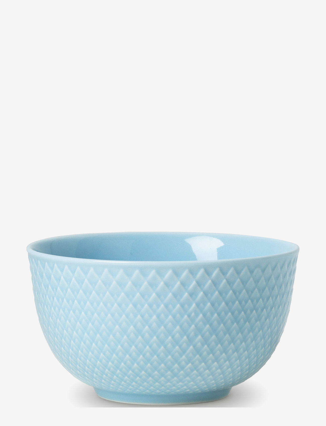 Lyngby Porcelæn - Rhombe Color Bowl - 25–50€ - turquoise - 1