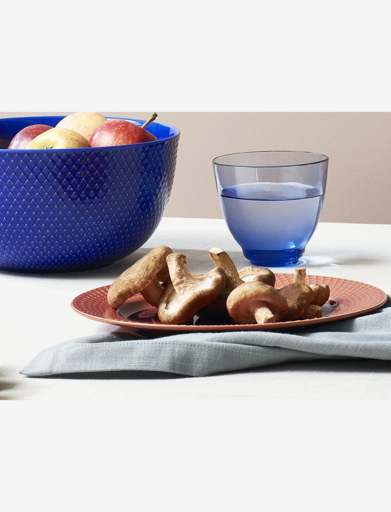 Lyngby Porcelæn - Rhombe Color Serving bowl - tarjoilukulhot - dark blue - 1