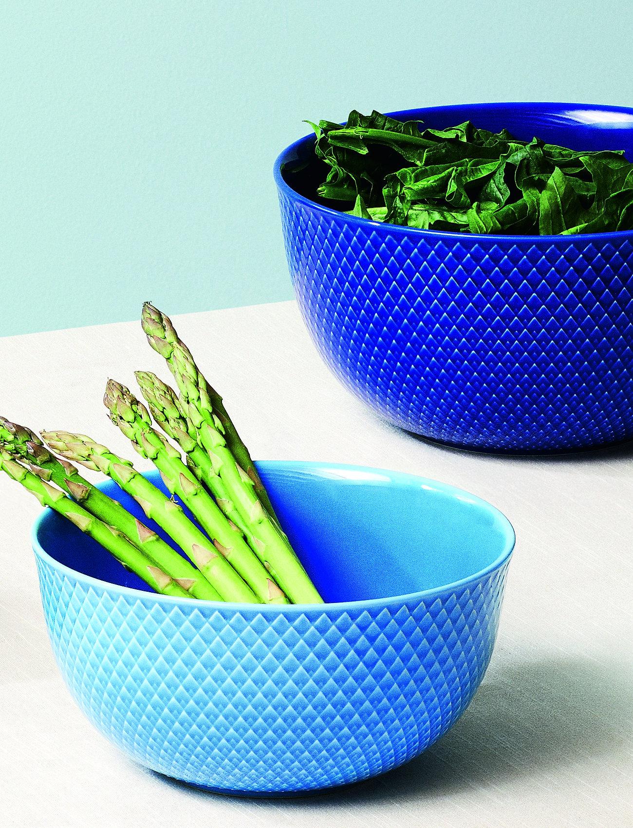 Lyngby Porcelæn - Rhombe Color Serving bowl - 100–200€ - blue - 0