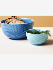 Lyngby Porcelæn - Rhombe Color Bowl - 25–50€ - turquoise - 2