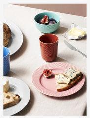 Lyngby Porcelæn - Rhombe Color Bowl - aamiaiskulhot - aqua - 1