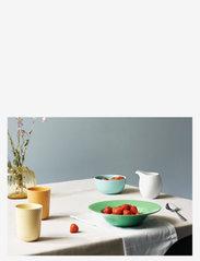 Lyngby Porcelæn - Rhombe Color Bowl - aamiaiskulhot - aqua - 2