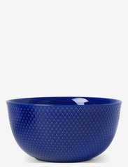 Lyngby Porcelæn - Rhombe Color Serving bowl - tarjoilukulhot - dark blue - 0