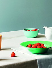 Lyngby Porcelæn - Rhombe Color Bowl - aamiaiskulhot - aqua - 3