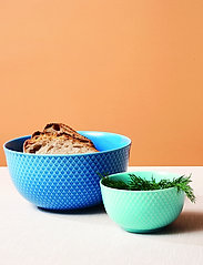 Lyngby Porcelæn - Rhombe Color Serving bowl - 100–200€ - blue - 4