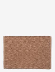 Herringbone Dækkeserviet - bordbrikker, glassunderlag & bordskånere - brown