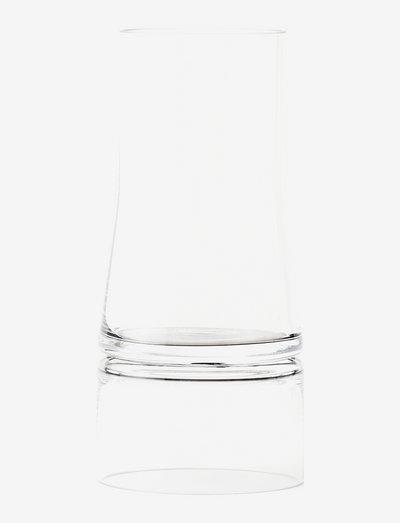 Joe Colombo Vase - vaser - clear/clear
