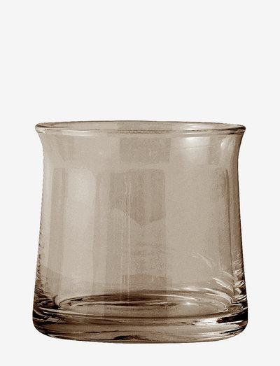 Joe Colombo Vannglass - whiskyglass & cognacglass - smoke
