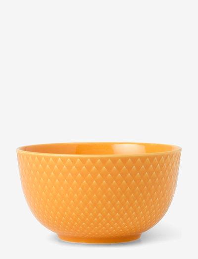 Rhombe Color Skål - frokostskåler - yellow