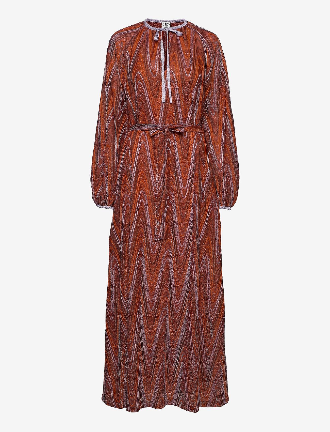 M Missoni - M MISSONI-LONG DRESS - kveldskjoler - tumeric/wood - 0