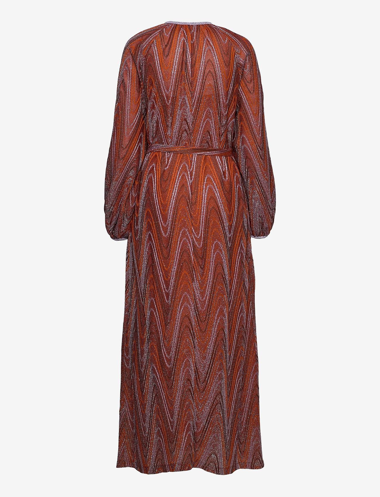 M Missoni - M MISSONI-LONG DRESS - kveldskjoler - tumeric/wood - 1