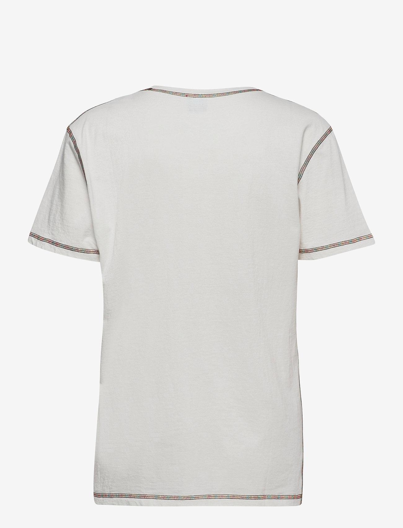 M Missoni - M MISSONI-SHORT SLEEVE T-SHIRT - t-shirts - marshmallow - 1
