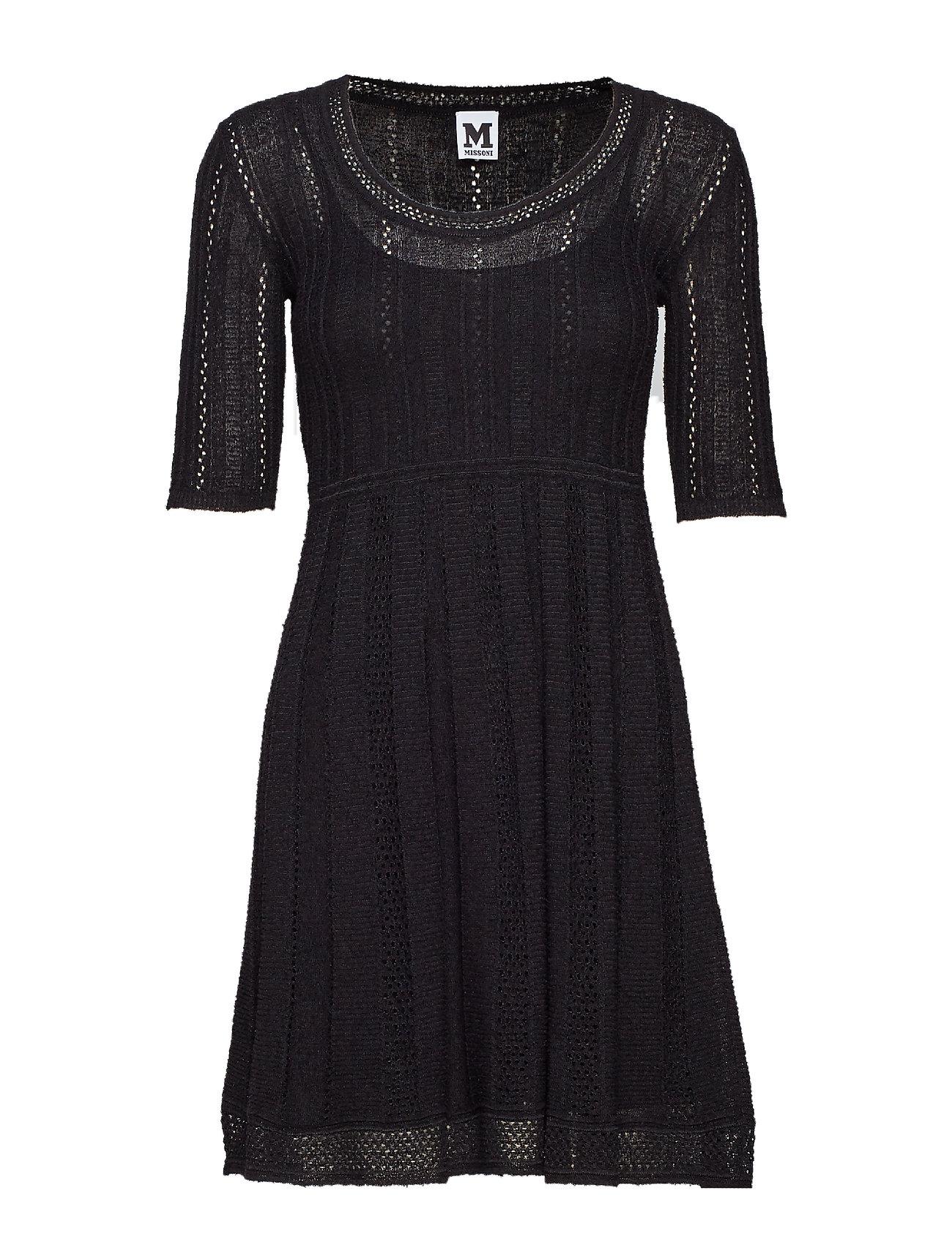 Image of M Missoni-Dress Knælang Kjole Sort M MISSONI (3101136145)