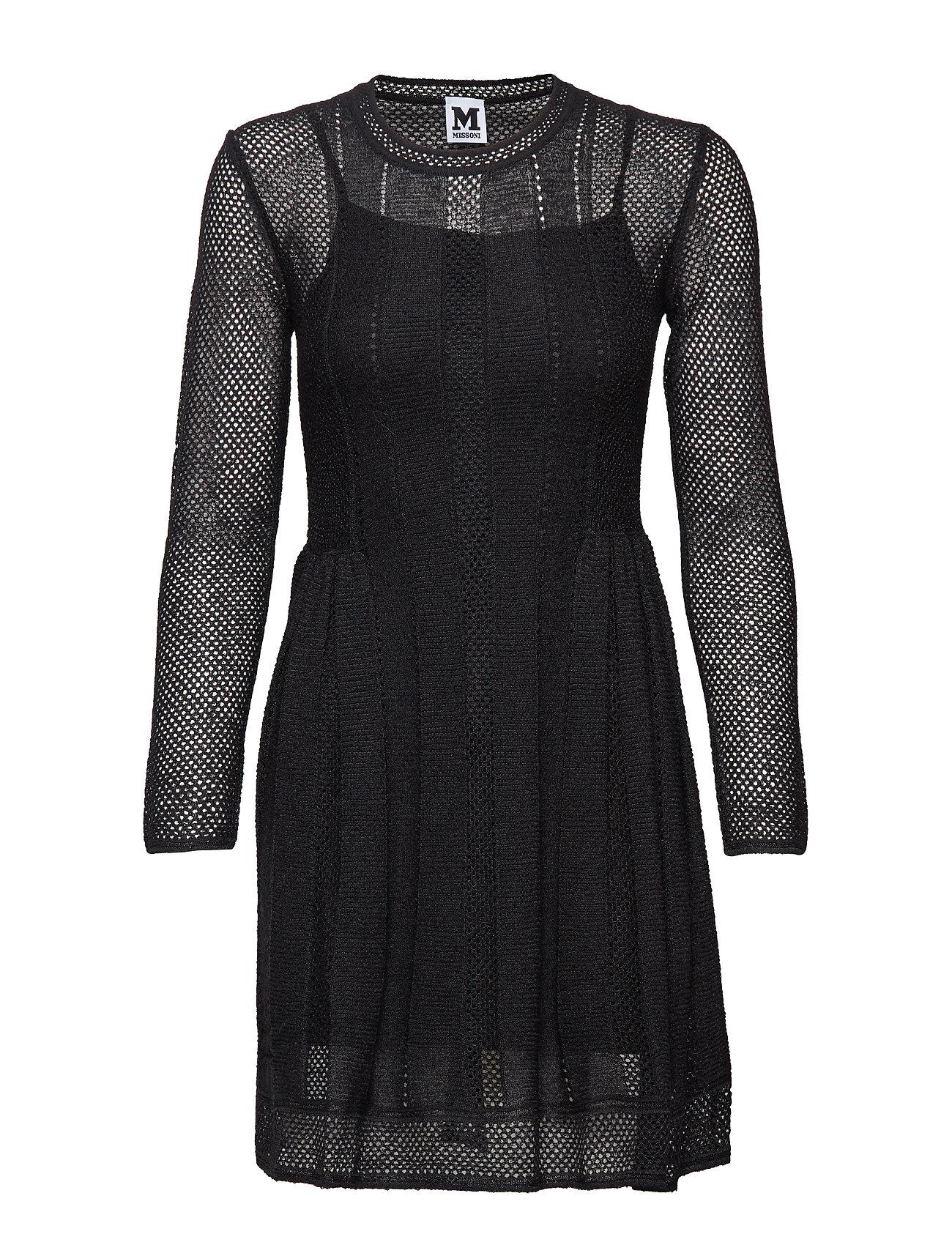 Image of M Missoni-Dress Knælang Kjole Sort M Missoni (3109299123)