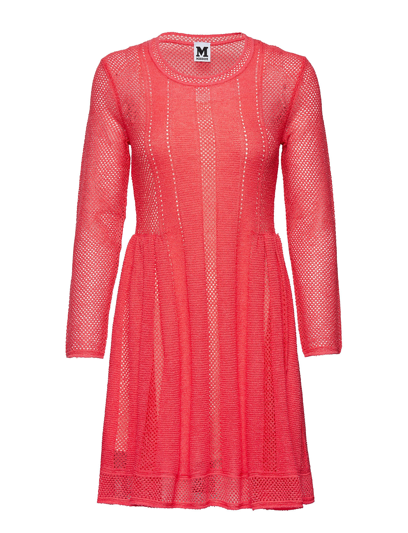 Image of M Missoni-Dress Knælang Kjole Rød M Missoni (3109691413)