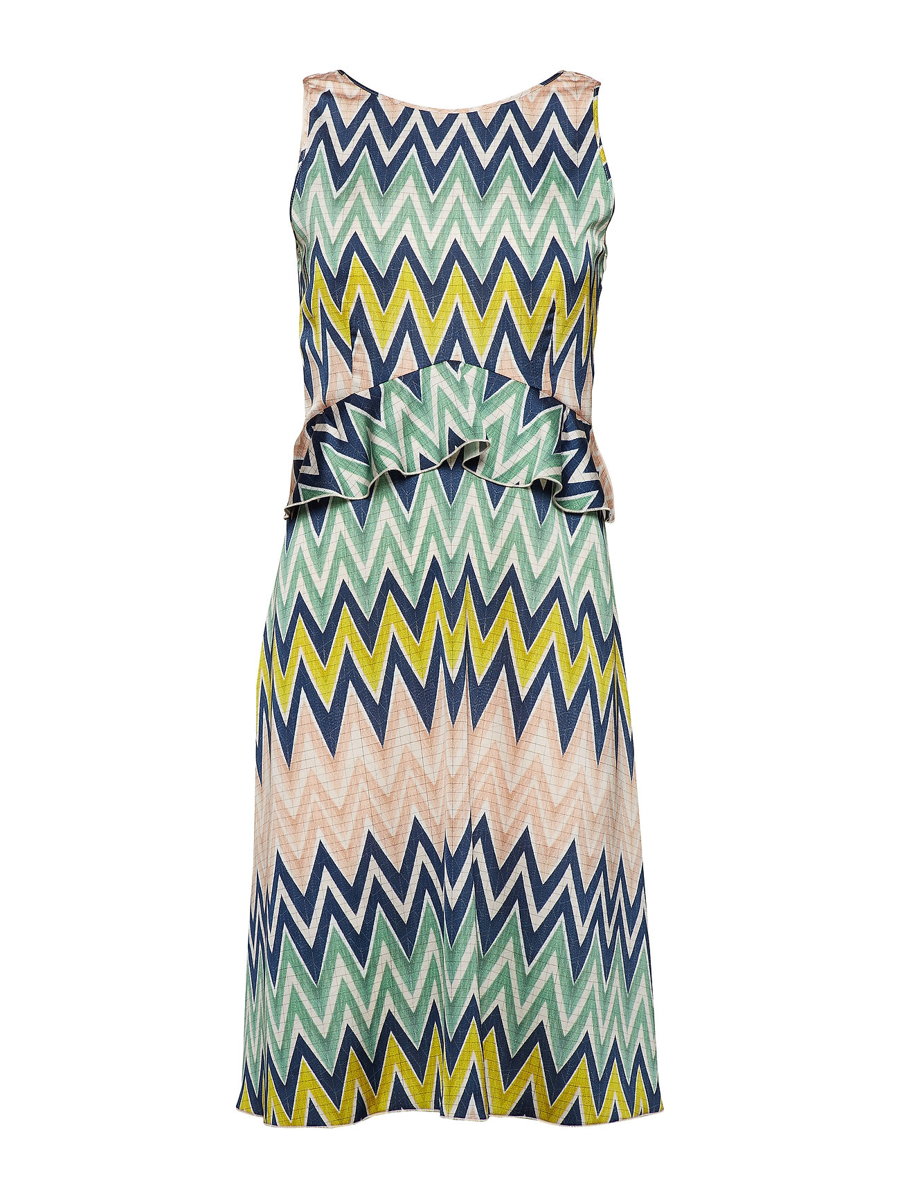M Missoni M MISSONI-SLEEVES DRESS - MULTI