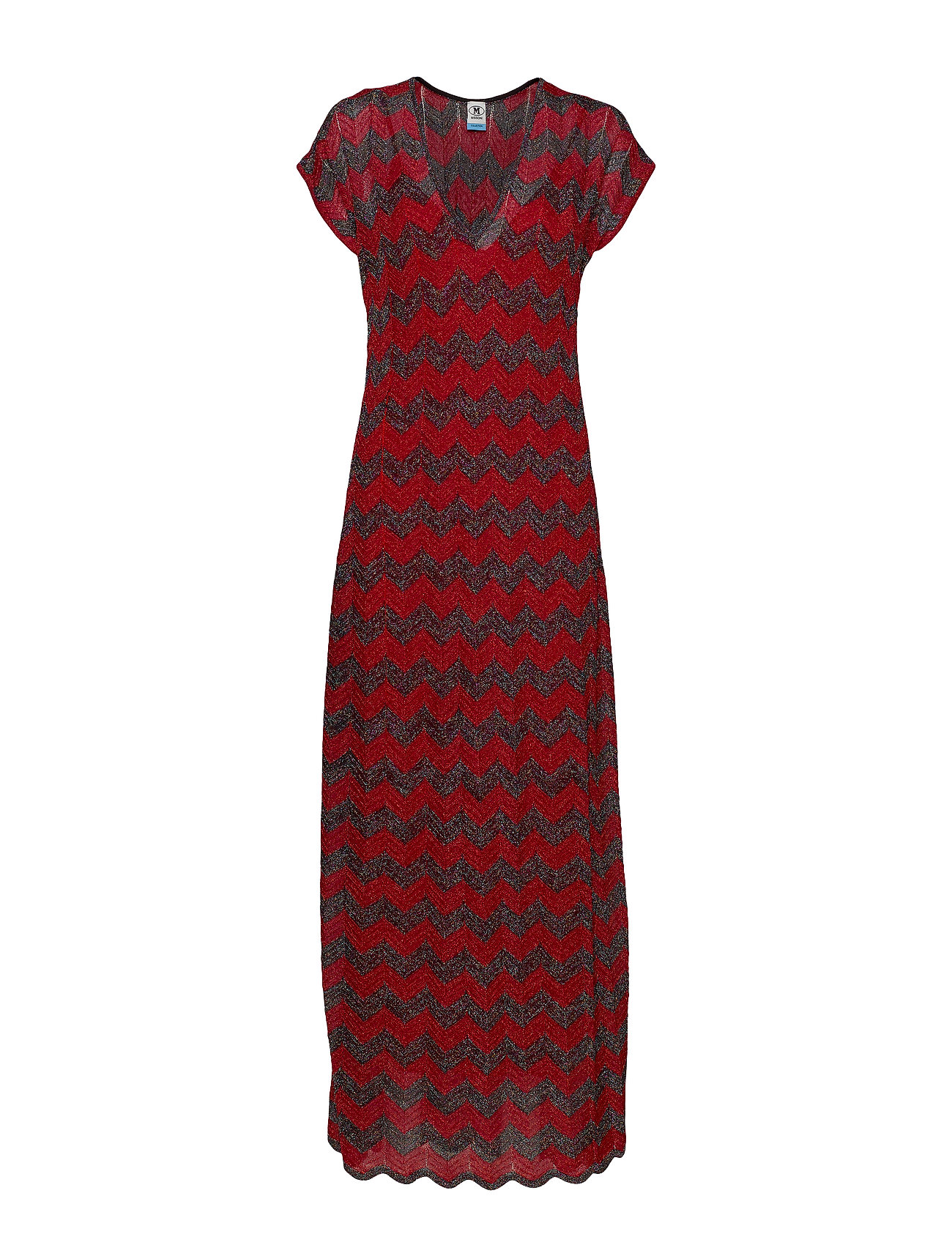 Image of M Missoni Long Dress Maxikjole Festkjole Rød M Missoni (3322698003)