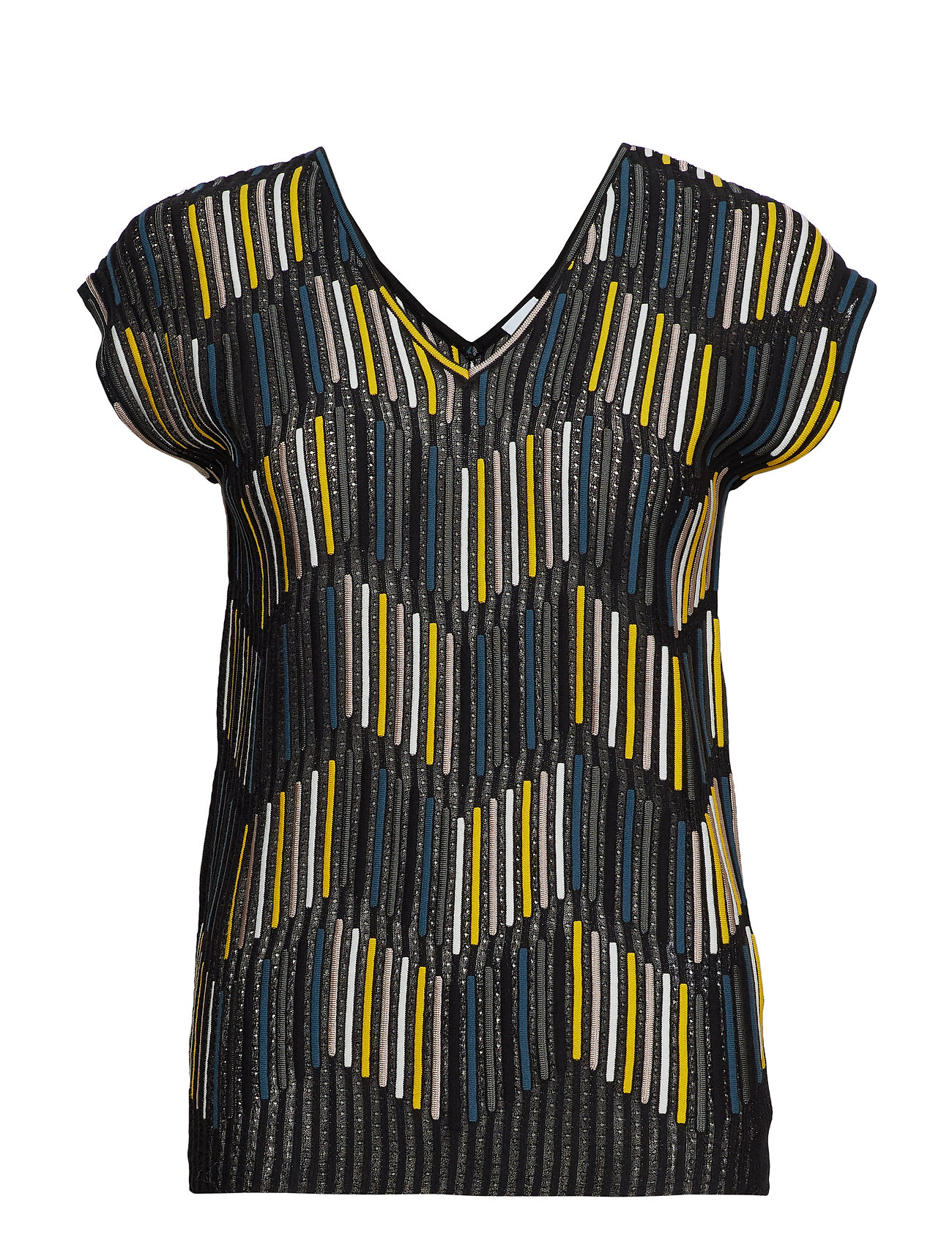 Image of 2dn00096-2k002b T-shirt Top Multi/mønstret M Missoni (3197190195)
