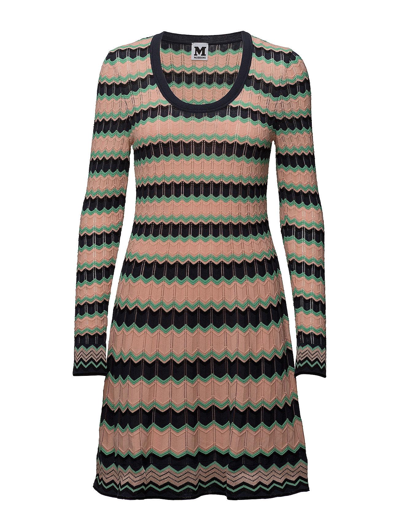 Image of M Missoni Dress Knælang Kjole Multi/mønstret M Missoni (3271715203)
