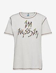 M Missoni - M MISSONI-SHORT SLEEVE T-SHIRT - t-shirts - marshmallow - 0
