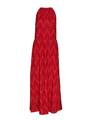 M Missoni-SLEEVES LONG  DRESS - RED
