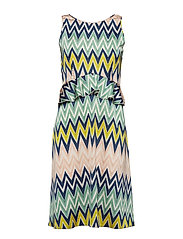 M MISSONI-SLEEVES DRESS - MULTI