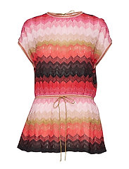 M Missoni-SHORT SLEEVE CREW NECK - MULTI