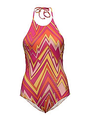 M Missoni-BATHING SUIT - PINK GERANIUM