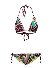M Missoni-BIKINI - DARK RED