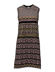 M Missoni-DRESS KNITTED - MULTI COLOURED