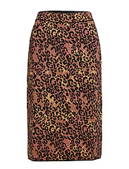 M MISSONI-SKIRT - RUST