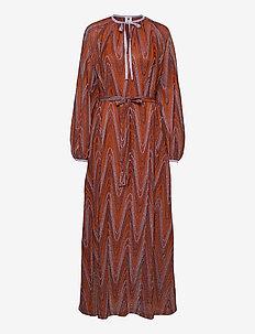 M MISSONI-LONG DRESS - kveldskjoler - tumeric/wood