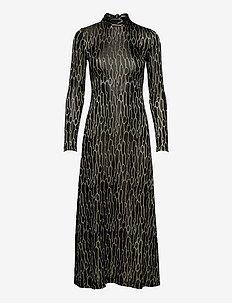 M MISSONI-DRESS - kveldskjoler - black/spearmint