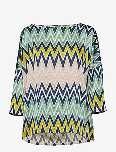 M MISSONI-LONG SLEEVE SHIRT - MULTI