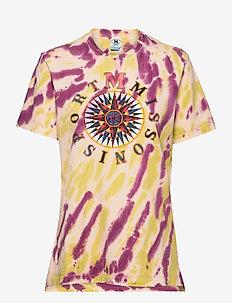 M MISSONI-SHORT SLEEVE T-SHIRT - t-shirts - skin/pist/heather