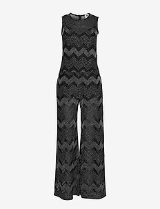 M MISSONI LONG OVERALLS - BLACK