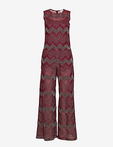 M MISSONI LONG OVERALLS - MAUVE WINE
