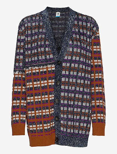 M MISSONI JACKETS - koftor - navy
