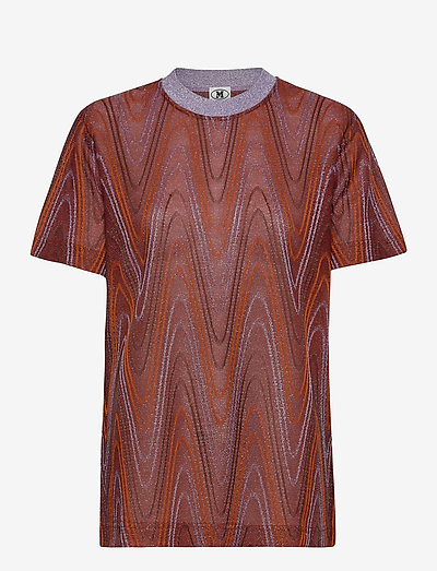M MISSONI-BLOUSE - linnen - tumeric/wood