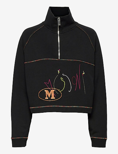 M MISSONI-CREWNECK SWEATSHIRT - gensere og hettegensere - black beauty