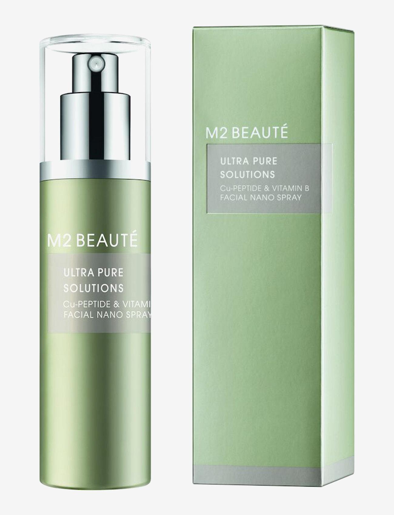 M2 Beauté - Cu-Peptide & Vitamin B Facial Nano Spray - setting spray - clear - 0