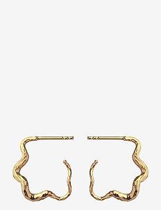Carin Earring - cerceaux - gold